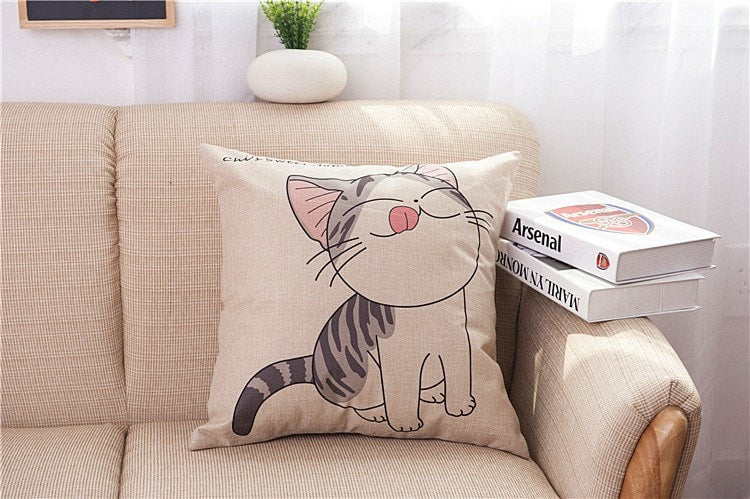 Happy Cats Pillow