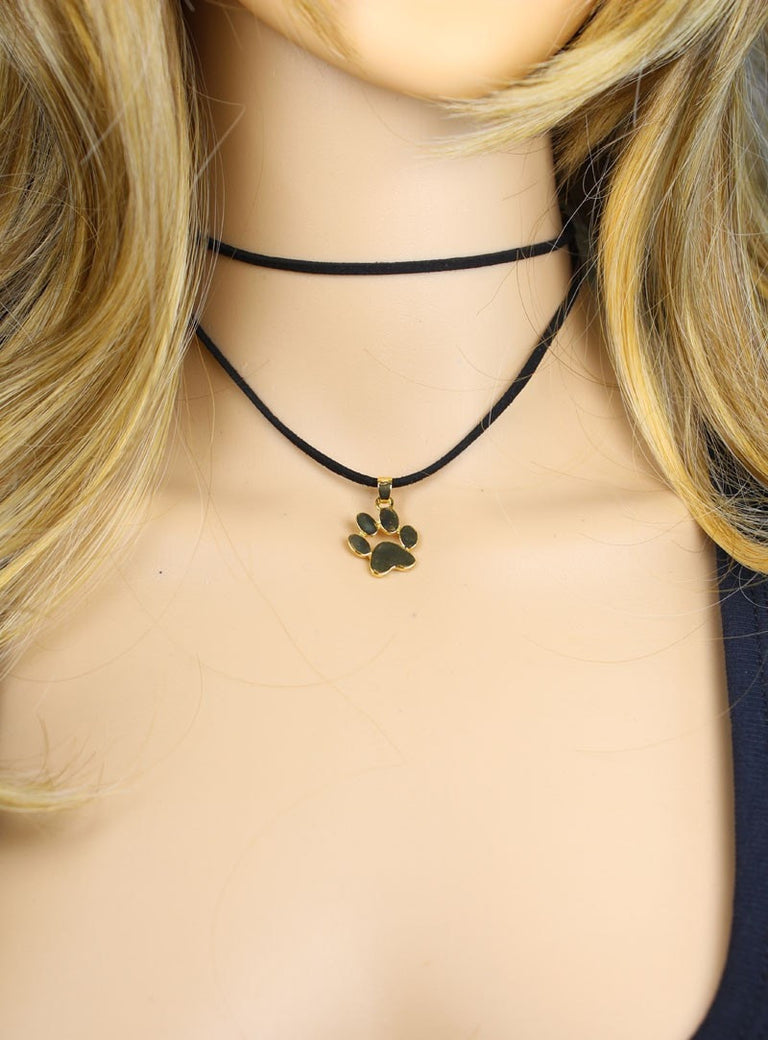 Cute Cat Paw Choker