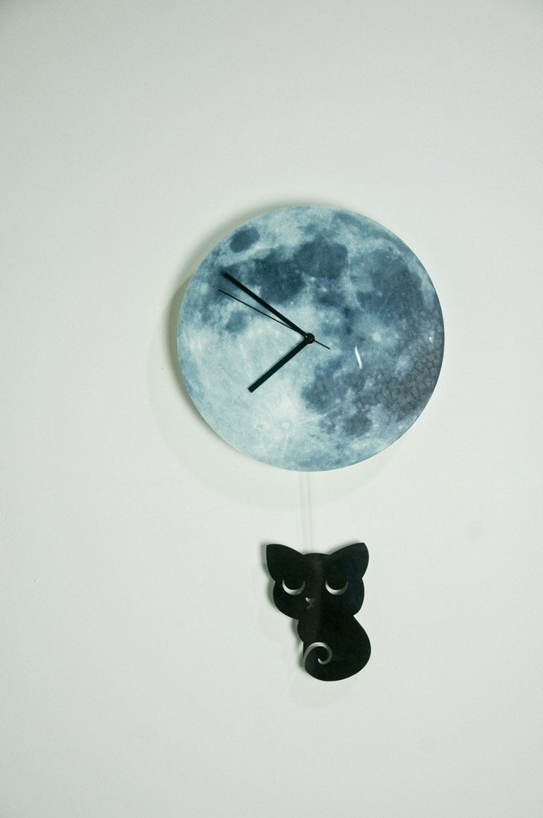 Space Cat Wall Clock