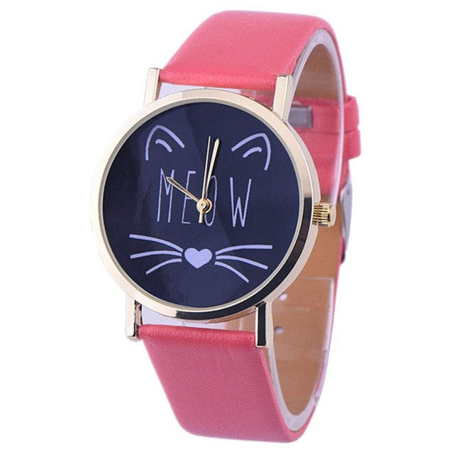 Fancy Cat Wiskers Watch