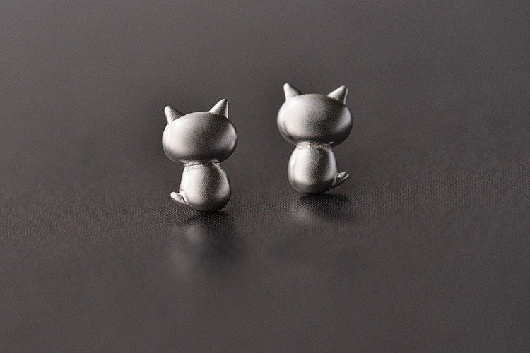 Rude Cat Earrings
