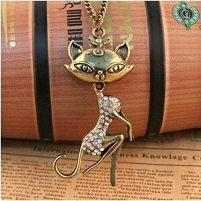 Sexy Cat Girl Necklace