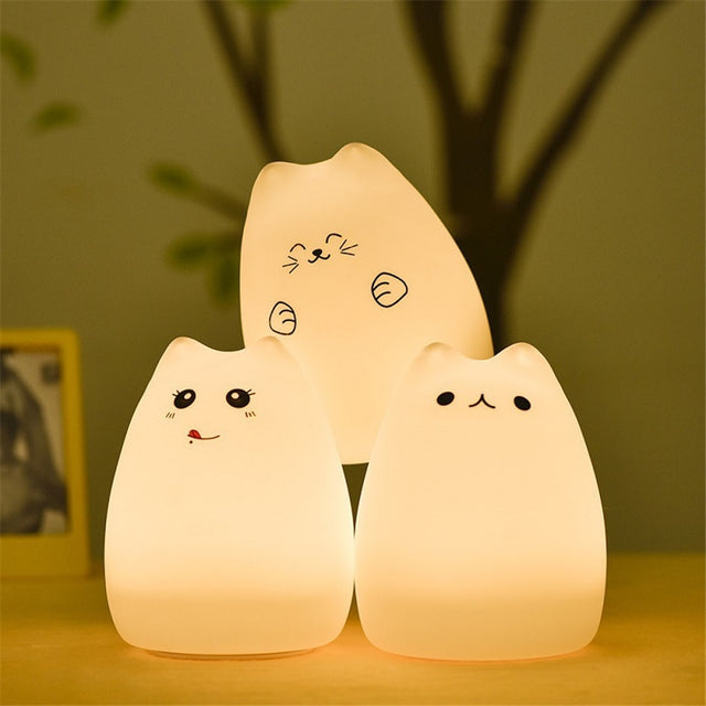 Portable Rechargeable Colorful Night Light