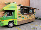 Food van off-grid