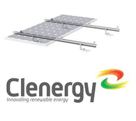 Build Solar Clenergy Solar Roof Framing