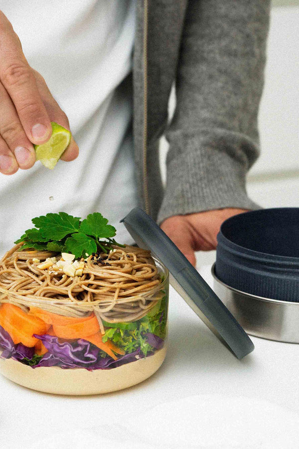 Black + Blum London Glass Lunch Bowl Sustainable Food On The Go