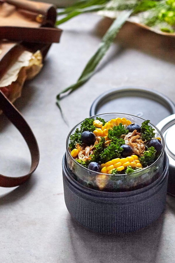 Black + Blum London Glass Lunch Pot Sustainable Food On The Go