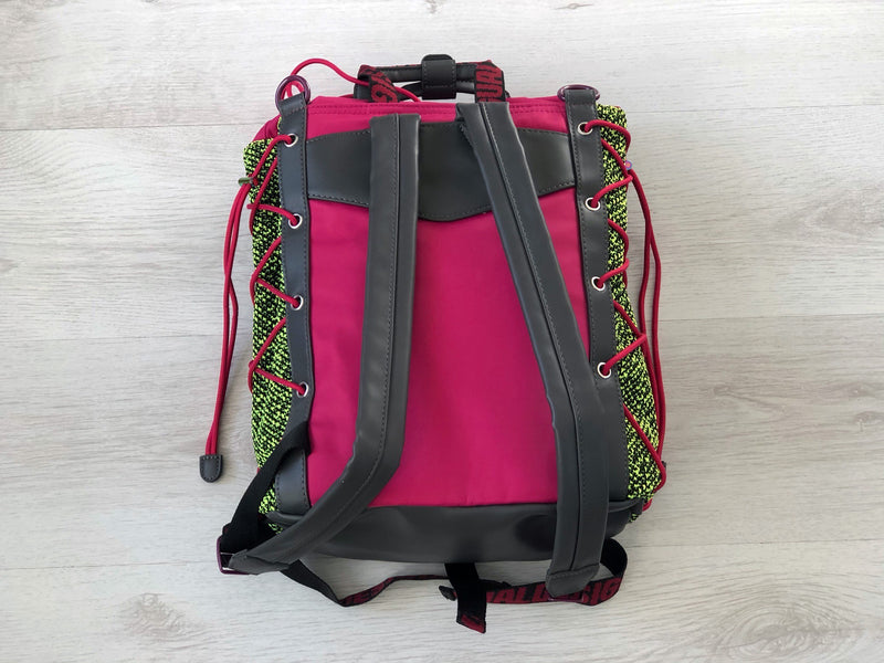 Desigual Fuchsia and neon Backpack