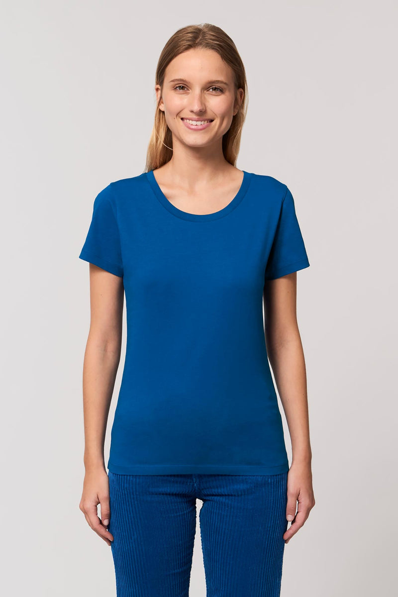 Ethical Women's Organic Cotton T Shirt Vegan Fairtrade & Sustainable
