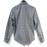 Multicolour Origami Birds Long Sleeve Cotton Shirt
