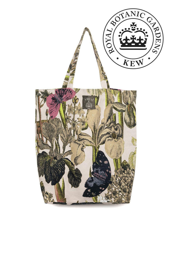 Luxurious Canvas Carry Bag OHS x Kew RBG Iris Blush