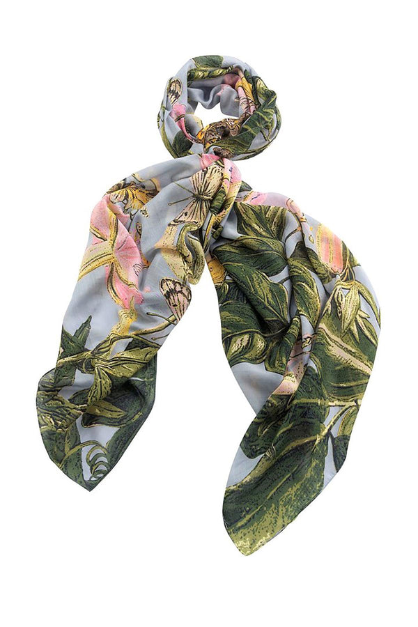 Luxurious Modal and Viscose Scarves OHS x Kew RBG Marianne North Chilli Plant