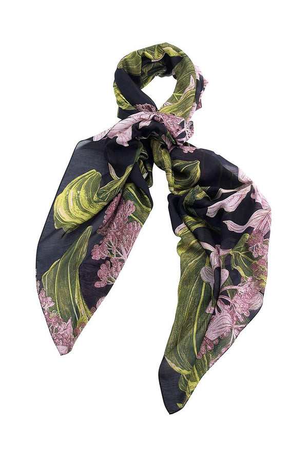 Luxurious Modal and Viscose Scarves OHS x Kew RBG Marianne North Medinilla