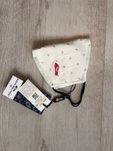 Protective cotton face mask - Polka dots