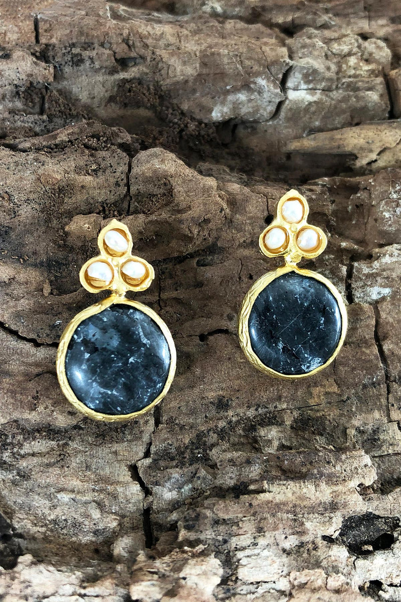 Drop Stud Earrings Slade Stud Earrings Made in Turkey