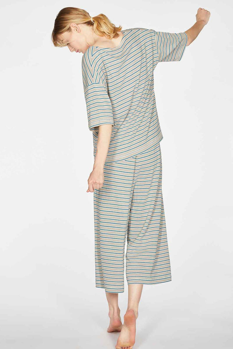 Thought Women's Hemp Organic Cotton Jersey Pyjama Set Organic Clothes