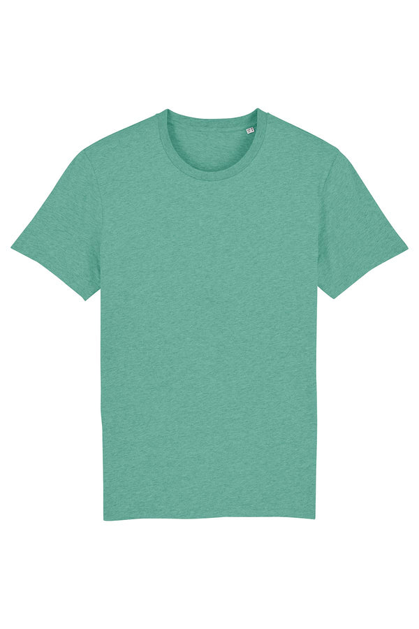 Ethical Unisex Organic Cotton T Shirt Vegan Fairtrade & Sustainable
