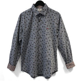 Vintage Aeroplanes Long Sleeve Cotton Shirt