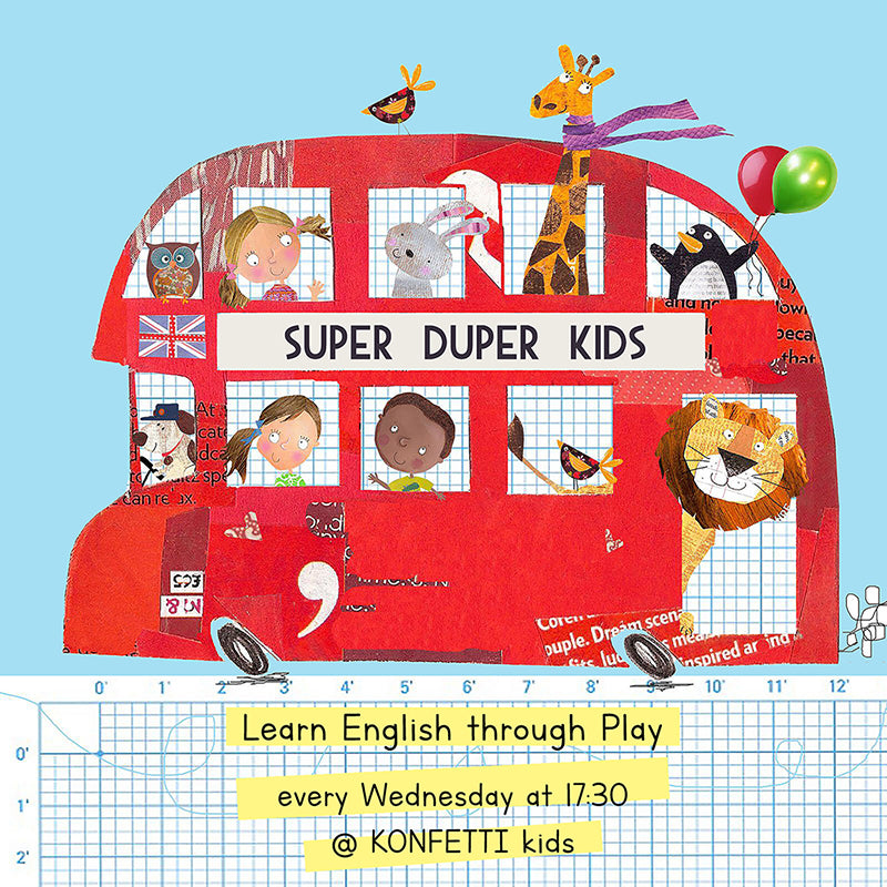 SUPER DUPER KIDS: Learn English through play