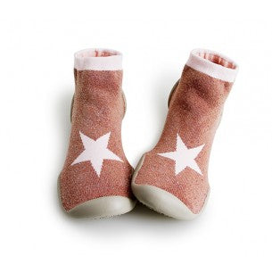 Collégien ~ Slippers - Pink Star