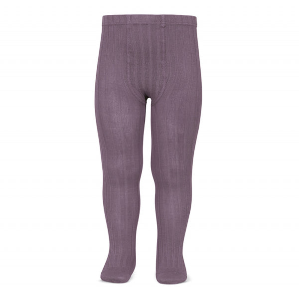 amethyst rib tights condor canale leotardos