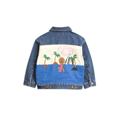 denim jacket seamonster from mini rodini