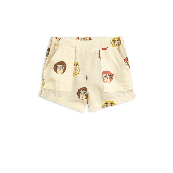 Mini Rodini - Monkey Woven Shorts