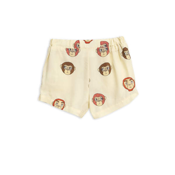 monkeys woven shorts off white with monkeys