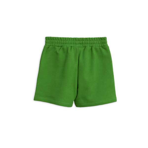 green shorts from mini rodini with black panther