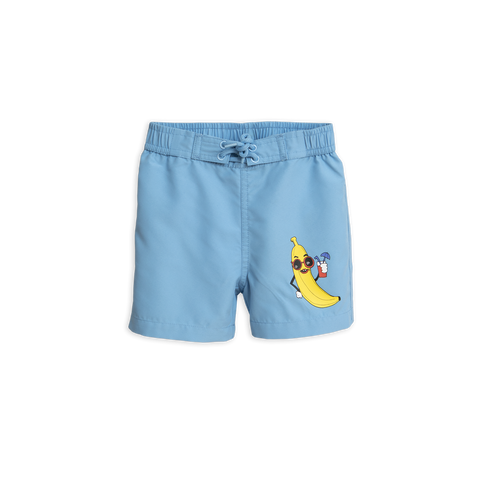 banana swim pants in light blue from mini rodini