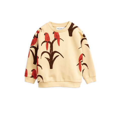 parrot aop sweatshirt from mini rodini tutto bene