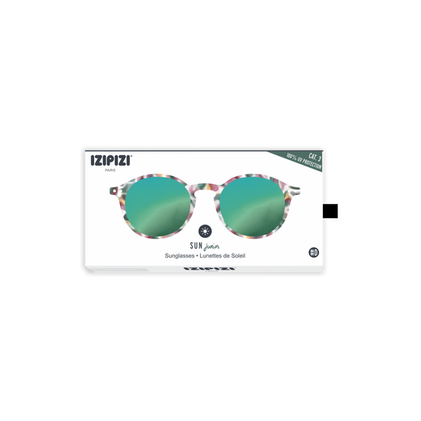 izipizi sunglasses for kids green, gafas de sol verde espejo