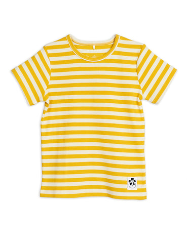 t-shirt stripes yellow off white mini rodini diana collection summer 2020