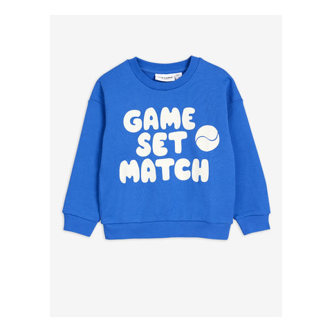 sweater game set match mini rodini blue sudadera azul
