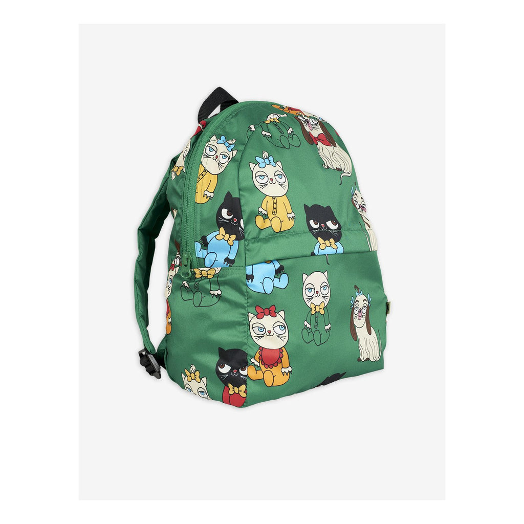 mini babies backpack green light with cats and dogs