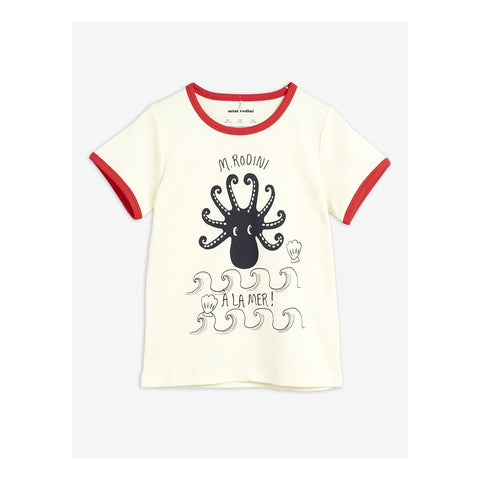 Mini Rodini Octopus T-Shirt in red