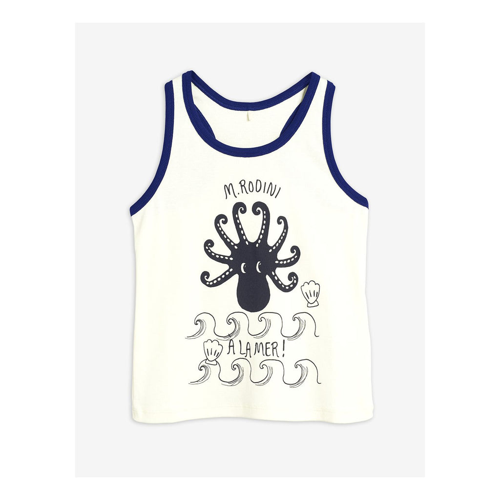 mini rodini octopus tank blue