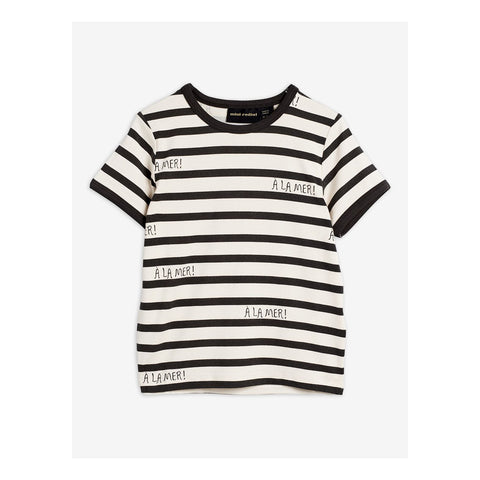 a la mer t shirt capsule collection mini rodini stripes off white and grey