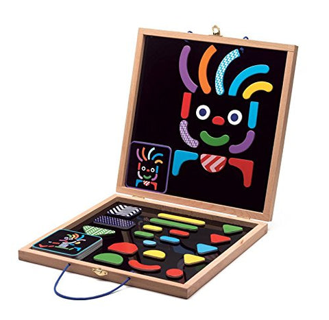 geobonhomme magnetic toy wooden case