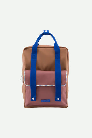 Sticky Lemon - Deluxe Envelope Backpack L - Brown