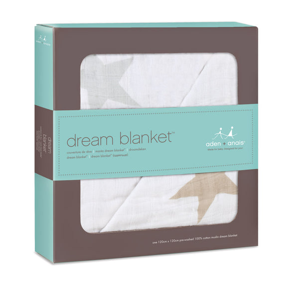 aden + anais ~ dream blanket - Stars - 100% Cotton Muslin