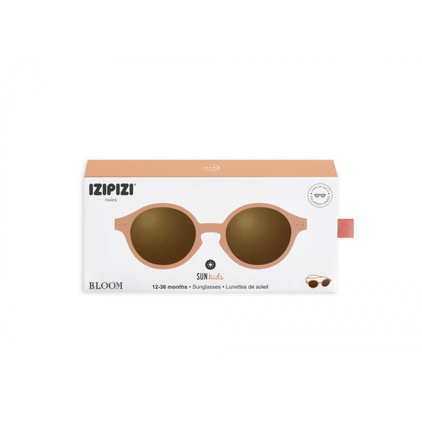 izipizi sunglasses for kids gafas de sol para niños peach
