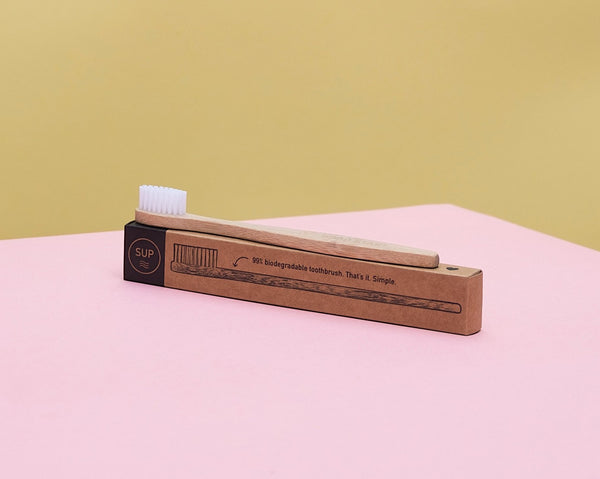 SUP ~ Bamboo Toothbrush - Kid