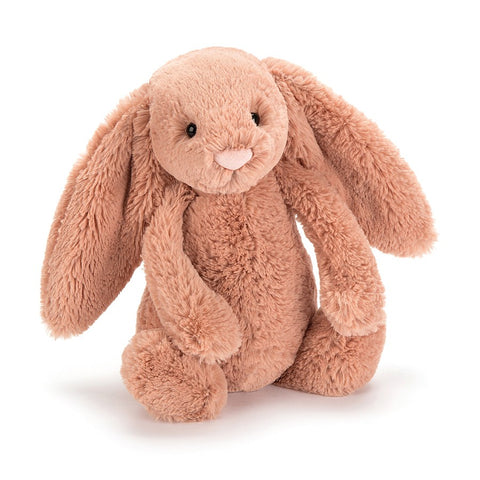bashful bunny apricot from Jellycat at konfetti kids barcelona