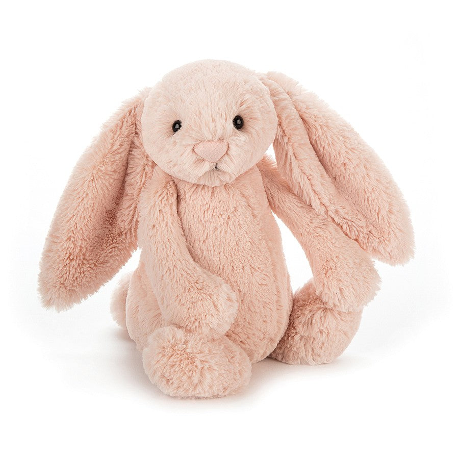 from jellycat the bashful bunny in blush, 31 cm