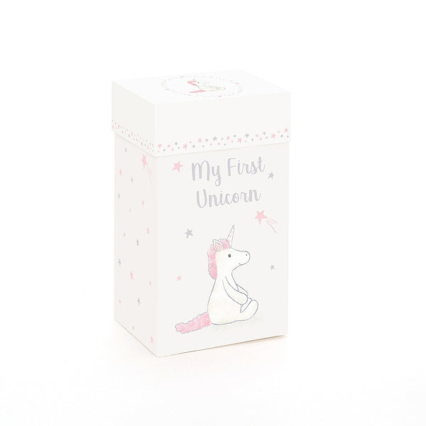 my first unicorn box jellycat