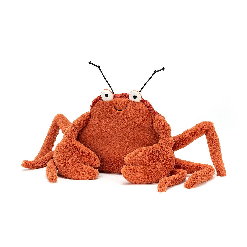 crispin crab from jellycat