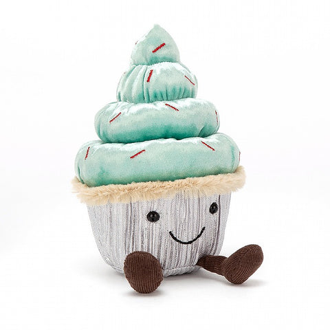 minty cupcake green jellycat