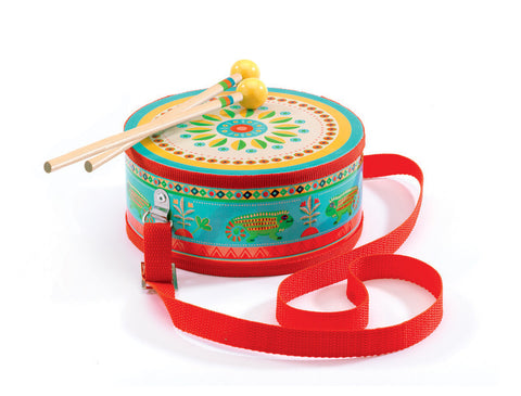 djeco, drum, kids, instrument, konfetti kids