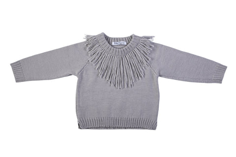 Bebe Organic ~ Dillon Jumper - Grey